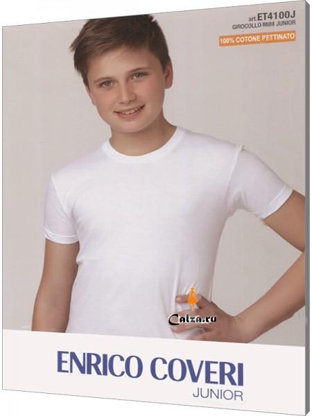ENRICO COVERI ET4100 junior mezza manica girocollo