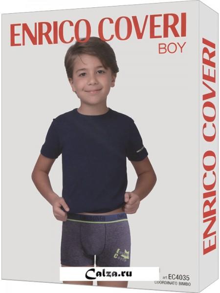 ENRICO COVERI EC4035 boy coord. boxer - t-shirt