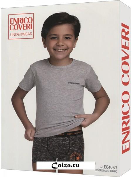 ENRICO COVERI EC4057 boy coord. boxer - t-shirt