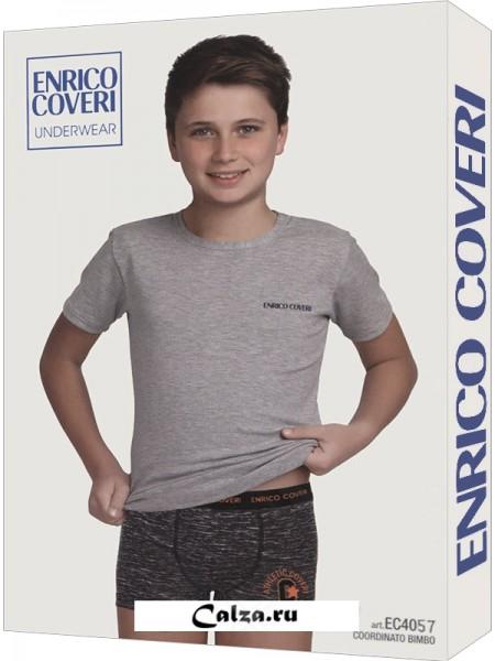 ENRICO COVERI EC4057 junior coord. boxer - t-shirt