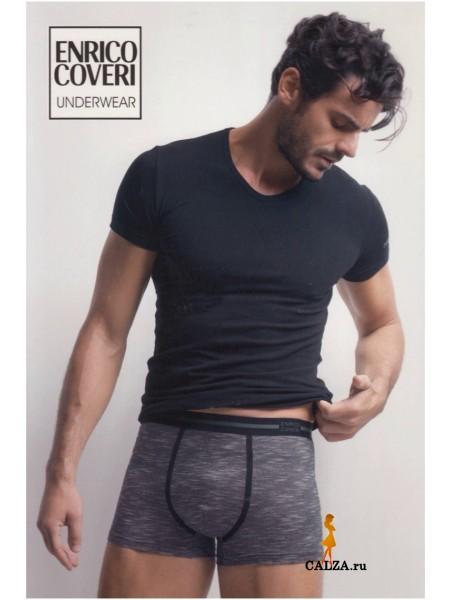 ENRICO COVERI EC1669 uomo coord. boxer - t-shirt