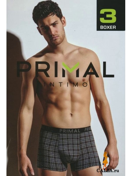 PRIMAL B164 uomo boxer, 3 pezzi