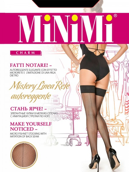 MINIMI MISTERY LINEA RETE autoreggente