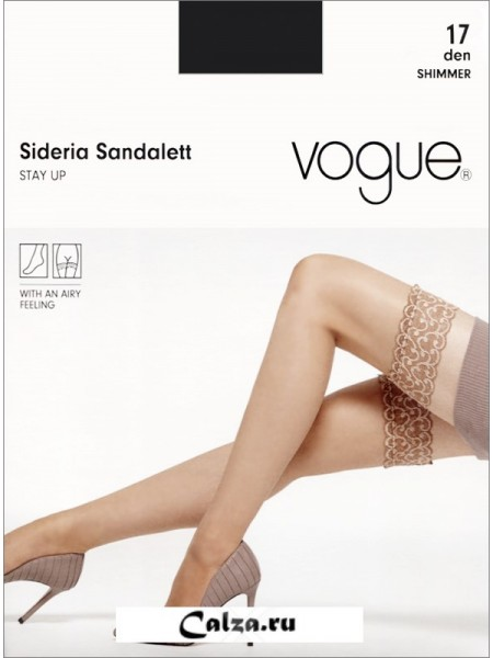 VOGUE art. 95111 SIDERIA SANDALETT STAY UP 17