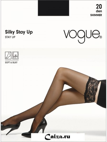 VOGUE art. 31299 SILKY STAY UP 20