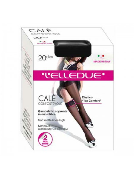 ELLEDUE CALE 20 gambaletto, 2 paia
