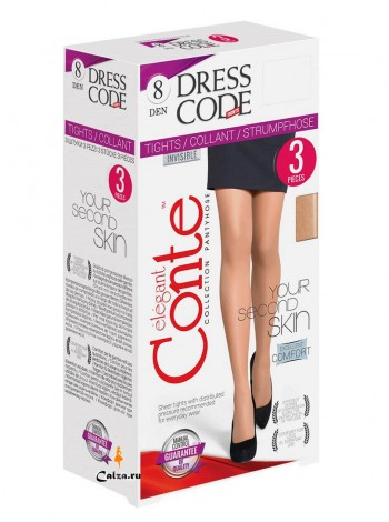 CONTE elegant DRESS CODE 8 3 pairs