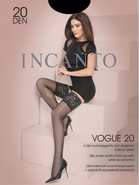 INCANTO VOGUE 20 autoreggente