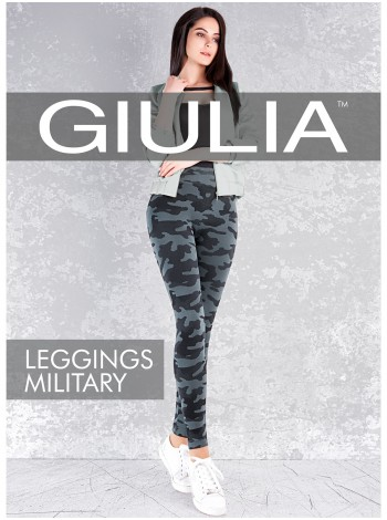 GIULIA LEGGINGS MILITARY model 1