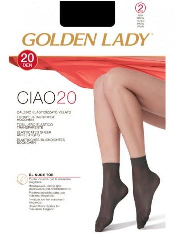 GOLDEN LADY CIAO 20 calzino, 2 paia
