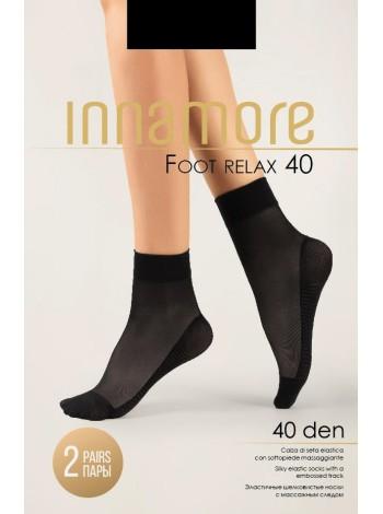 INNAMORE FOOT RELAX 40 calzino, 2 paia